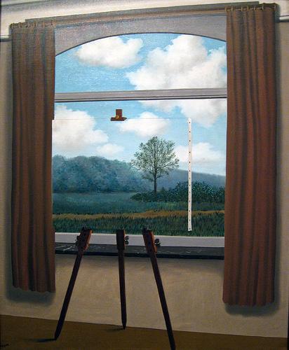 Cuadro de Magritte