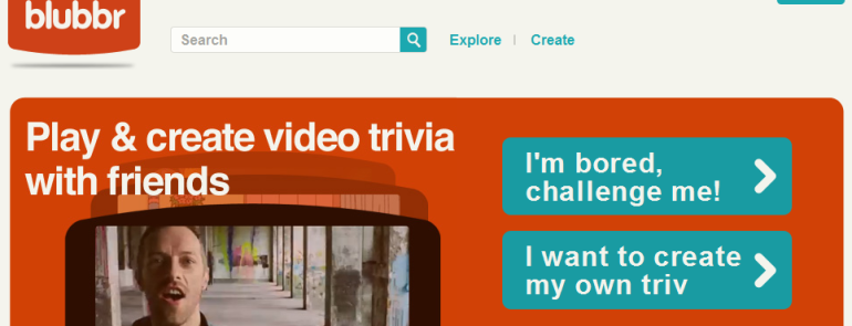 Blubbr: Create interactive quizzes using YouTube clips