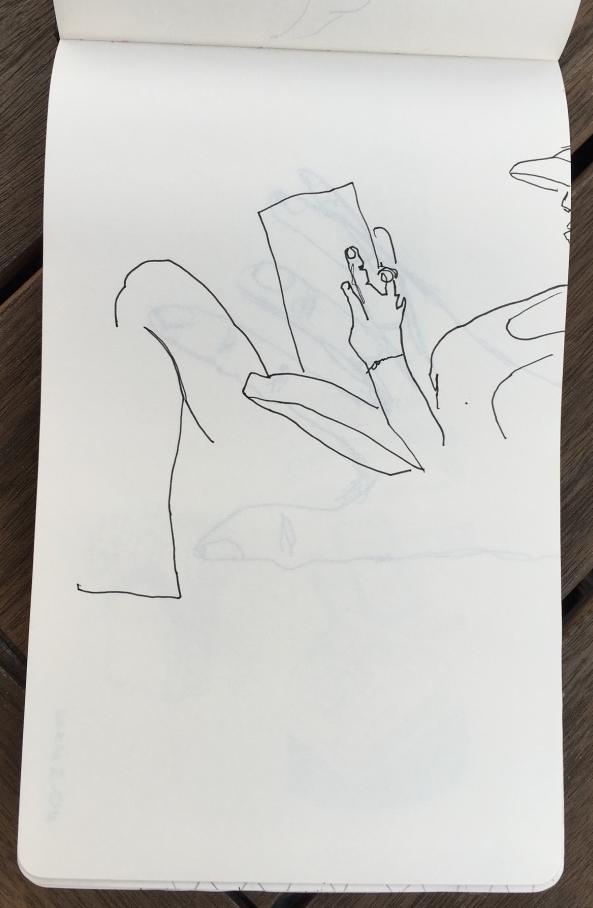 leyendo linea
